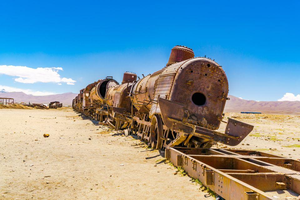 Uyuni Train Cemetery - Bolivia