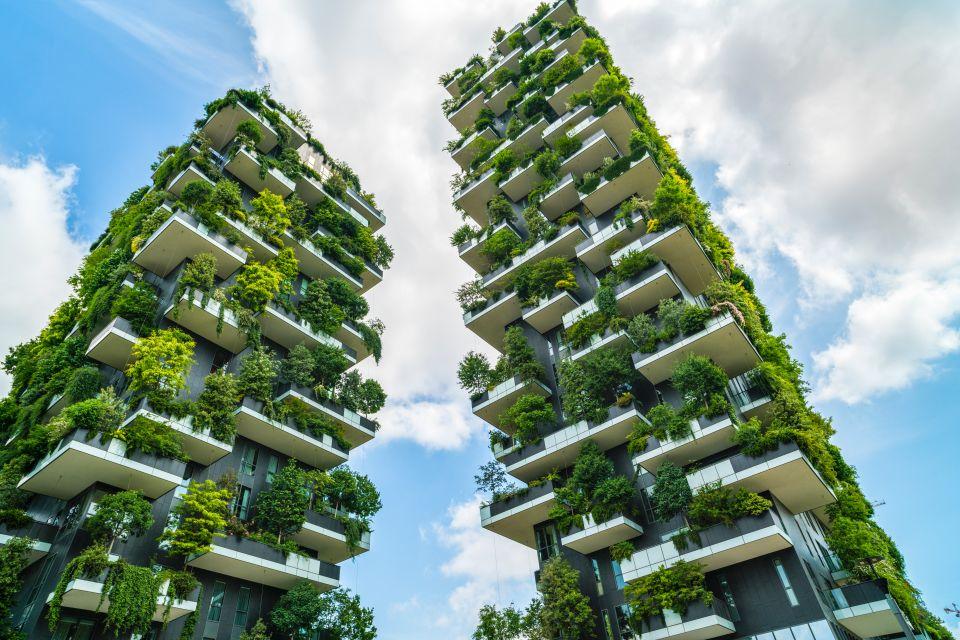 Vertical farming the eco city part 2 farming upward for Green building articles