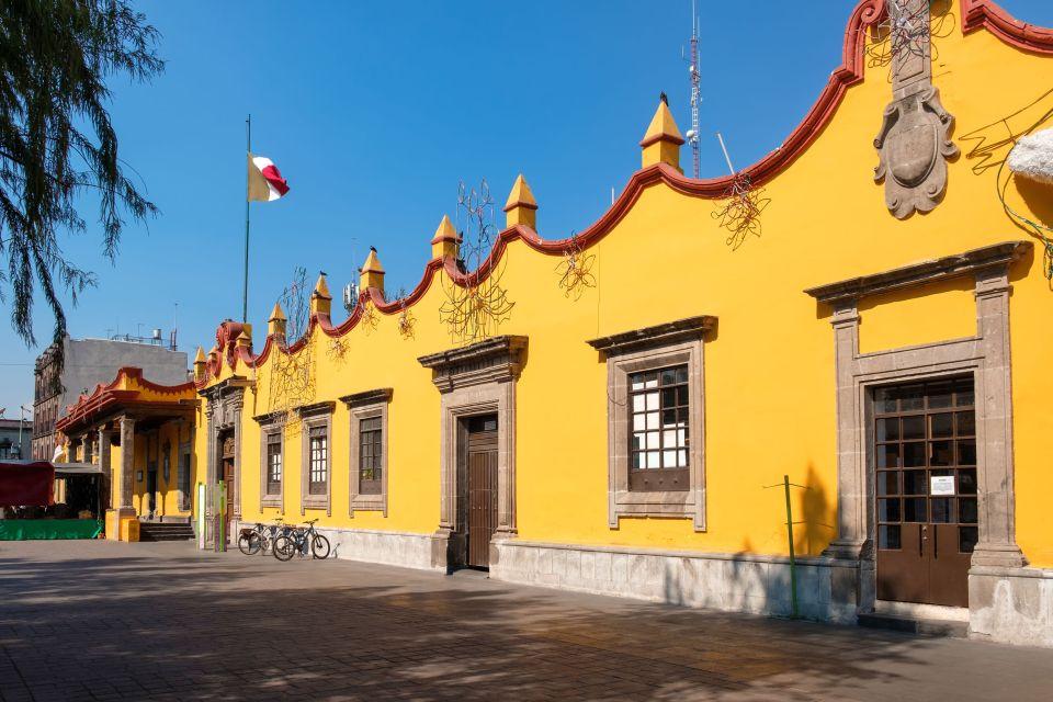 Il quartiere di Coyoacan, dove visse Frida a Ciudad del Mexico