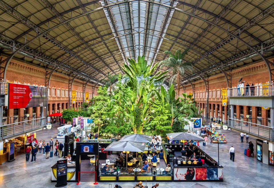 Atocha Station - Madrid, Spain