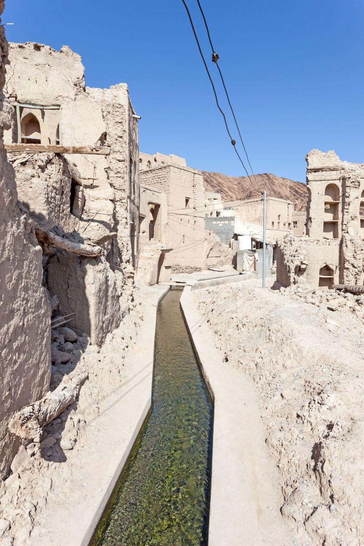 An irrigation system, Oman
