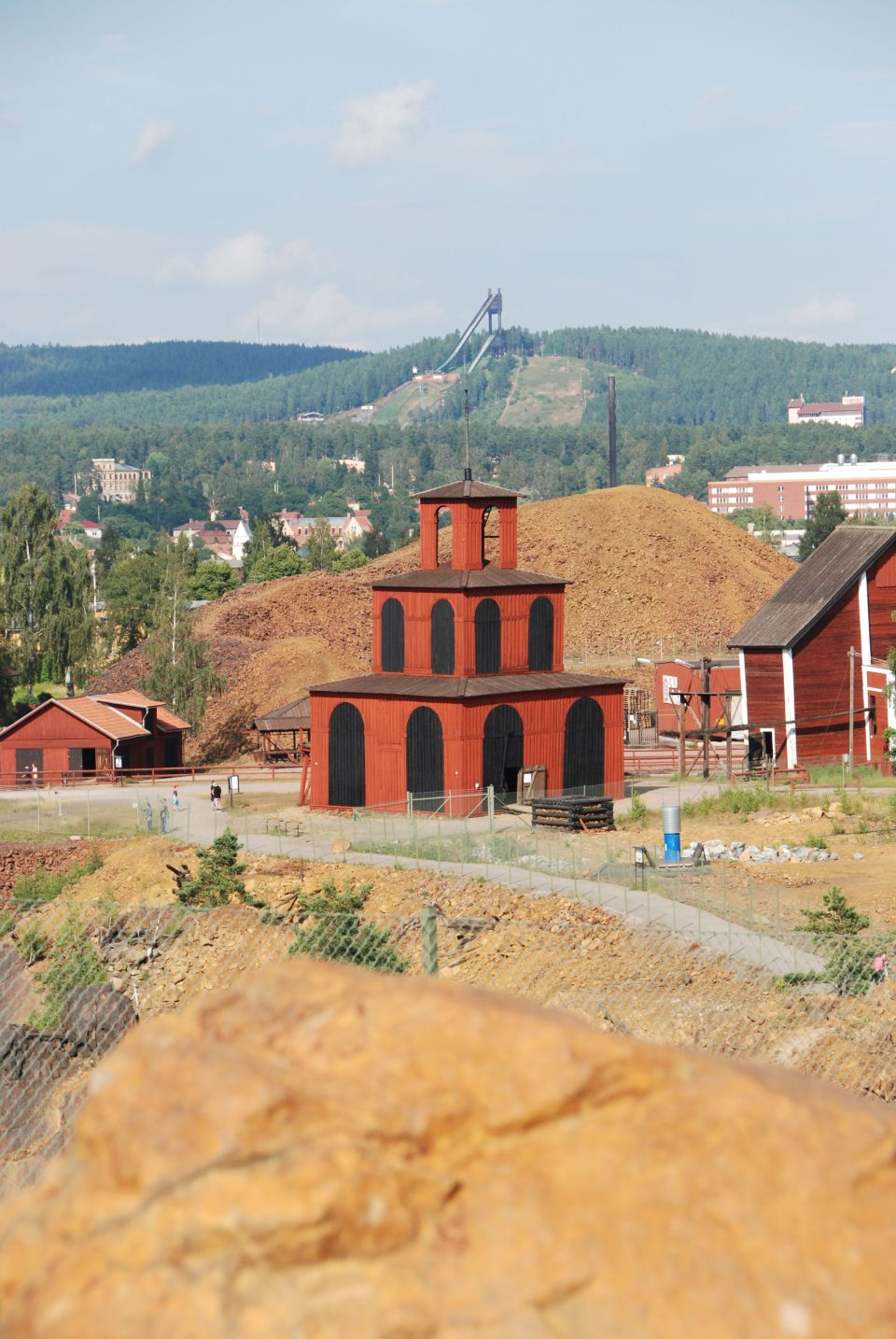 A copper mine, Sweden
