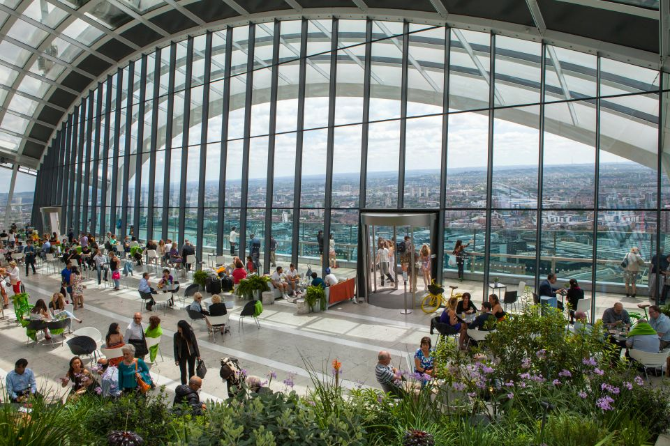 Let your romance Bud at London's Sky Garden