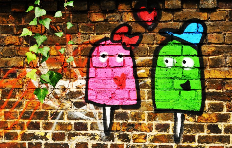 Add some colour to your day with a street art walk