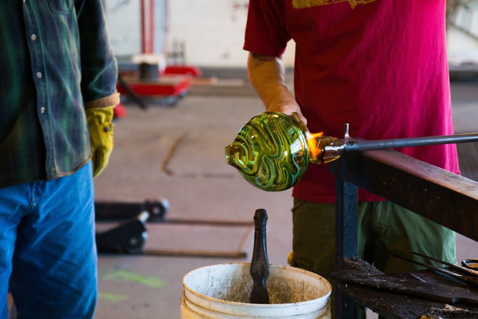 Show some glass at the London Glassblowing Studio