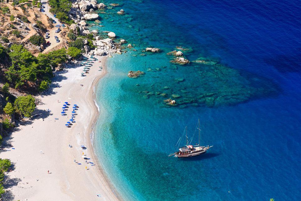 Una delle magnifiche spiagge di Karphatos