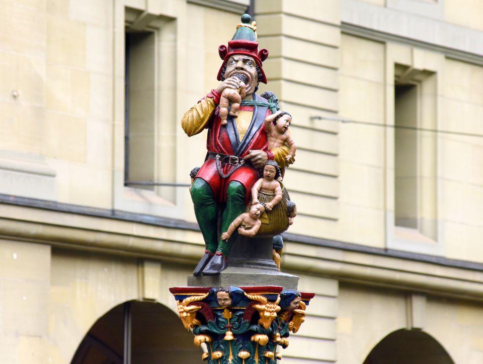 Child Eater Statue - Bern
