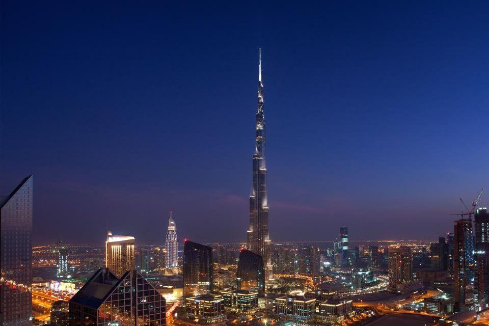 5) Burj Khalifa