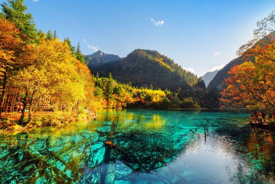 Chine : la réserve naturelle de Jiuzhaigou