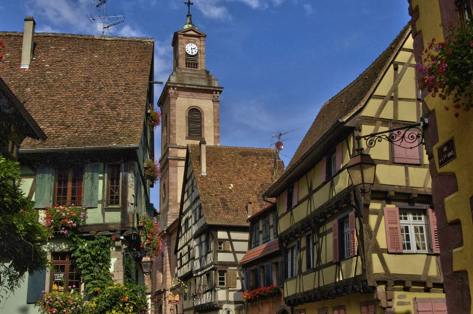 Riquewihr, France -Beauty and The Beast