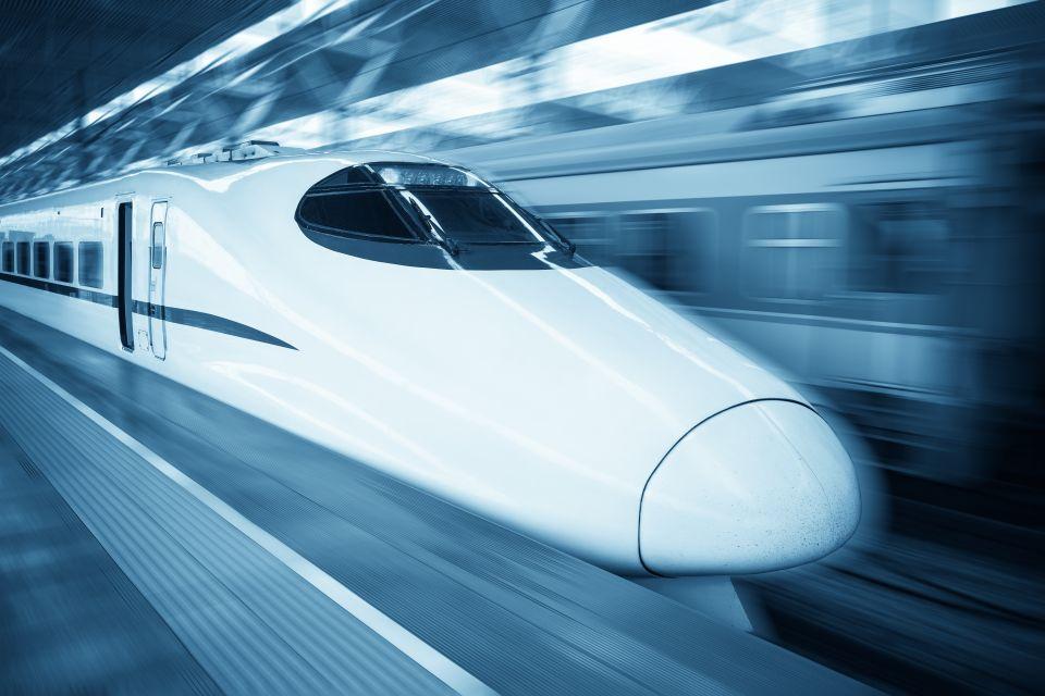 Image result for super sonic flying train