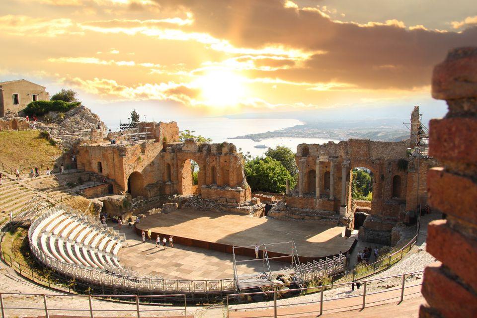 L'anfiteatro di Taormina.