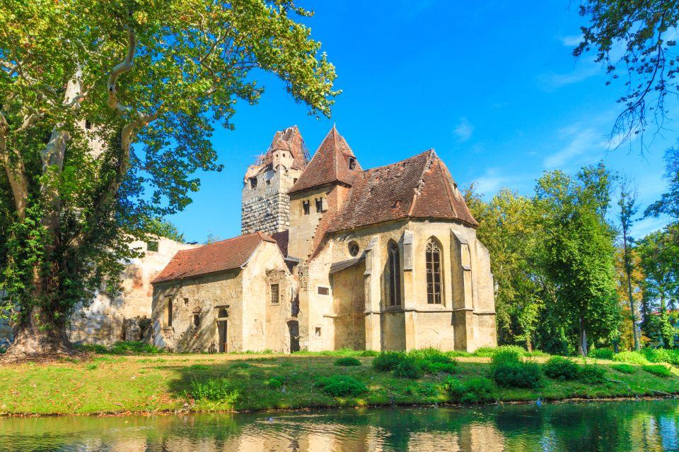 Pottendorf, chiesa e castello medioevali