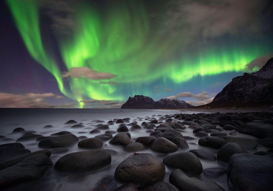 Admirer les aurores boréales depuis les Îles Lofoten (Norvège)