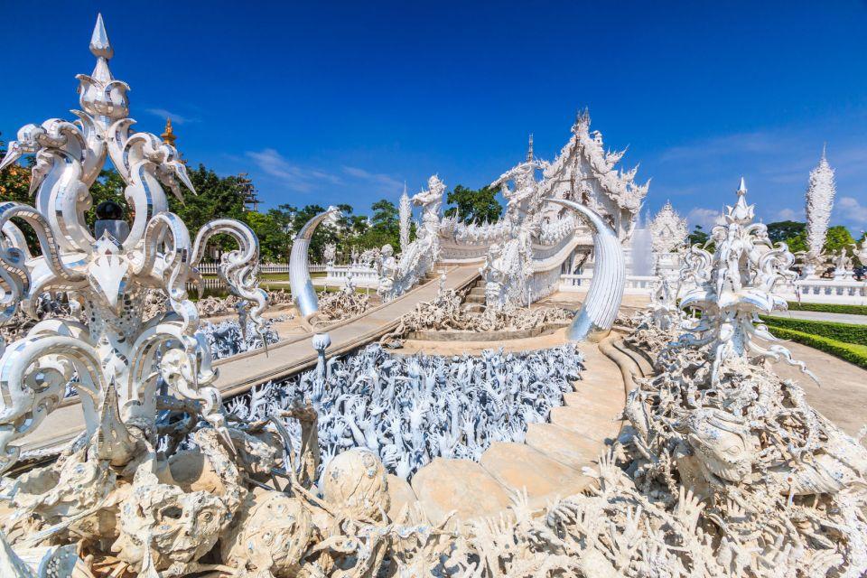 Le Wat Rong Khun de Chiang Rai en Thaïlande