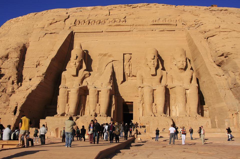 3. Los templos de Abu Simbel en Egipto