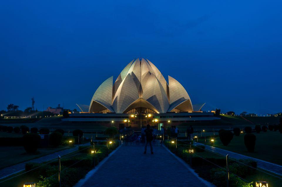 4. El templo de Lotus en Nueva Delhi