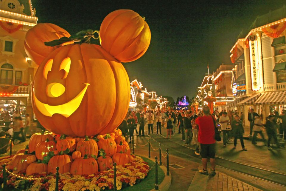 Célébrer Halloween dans un parc d'attraction européen