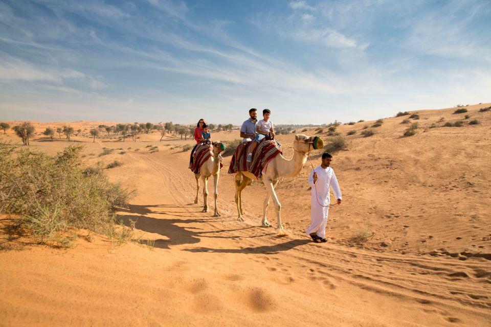 Découvrir le désert à dos de chameau