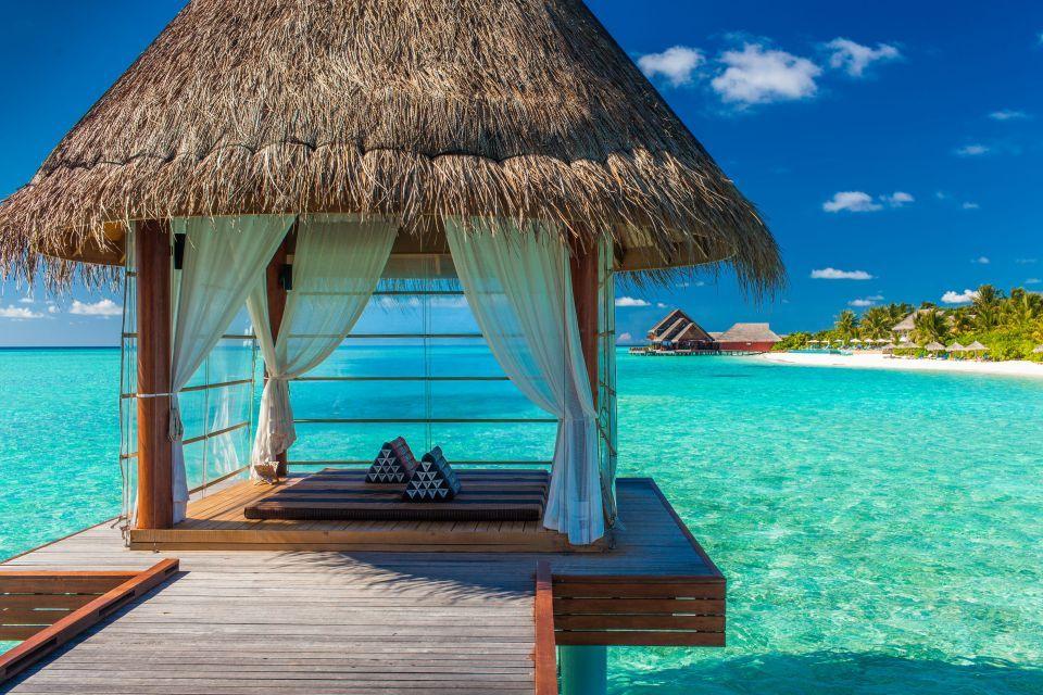Get yourself an April tan in Bora Bora
