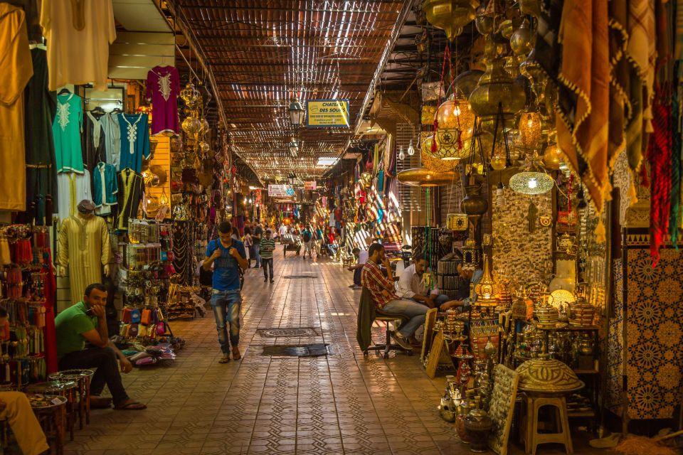 Le souk de Marrakesh