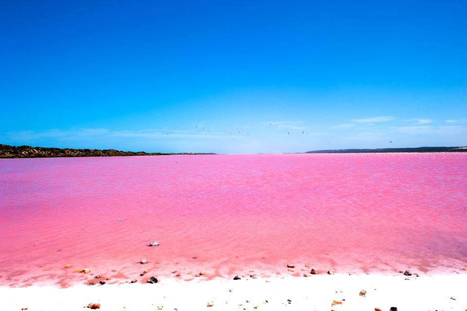 Lago Hillier en Australia