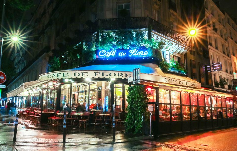 CAFÉ DE FLORE, PARÍS