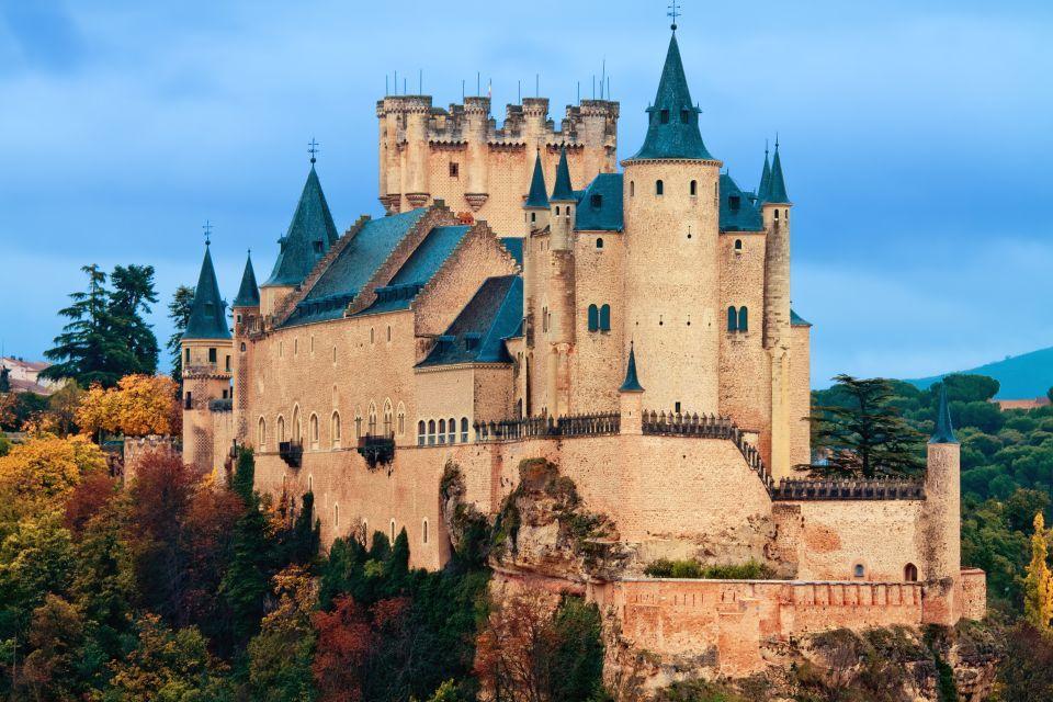El Alcázar de Segovia, España