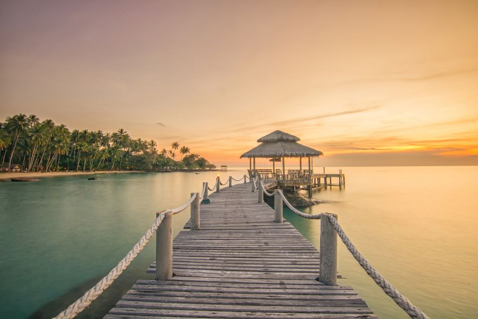 Un coucher de soleil à Phuket