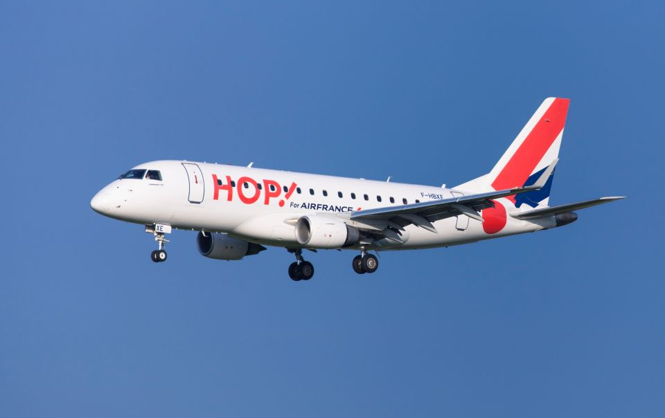 HOP! Air France reliera Caen-Toulouse et Stasbourg-Rennes cet hiver