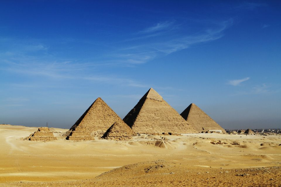 Platz 9: Pyramiden von Gizeh, Ägypten