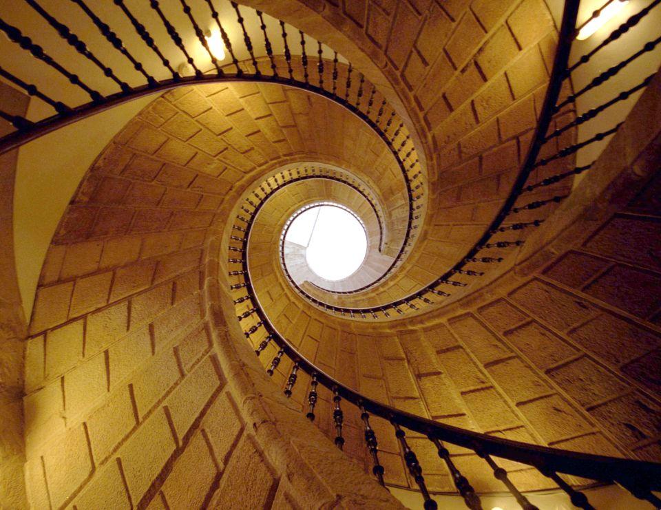 Escalier à l'intérieur du Musée du Peuple Galicien