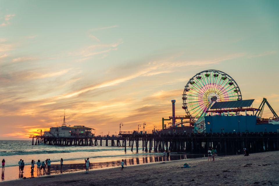 Au bout de la jetée du Santa Monica