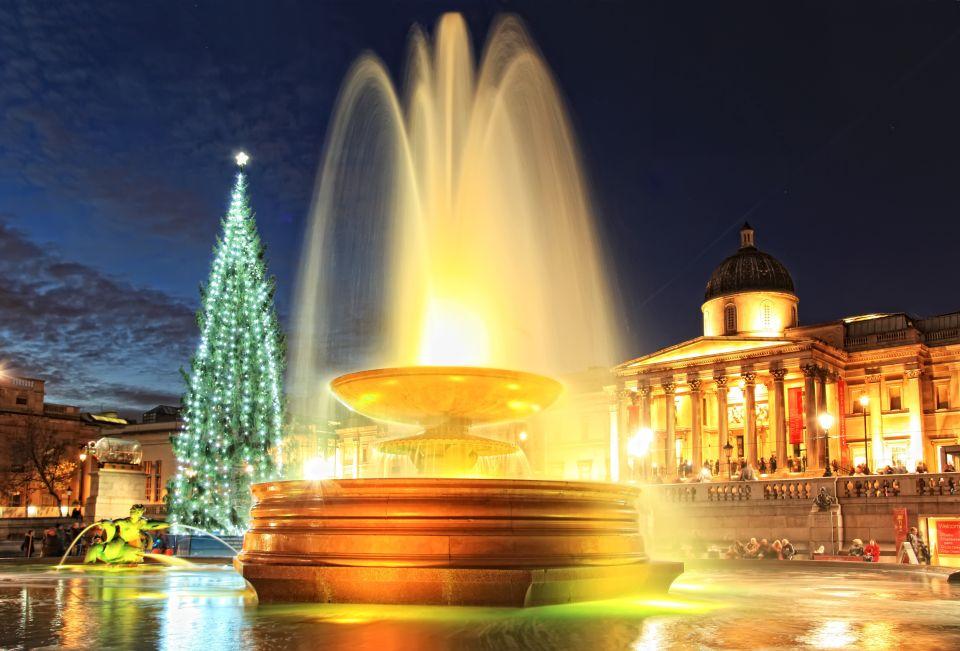 El abeto de Trafalgar Square