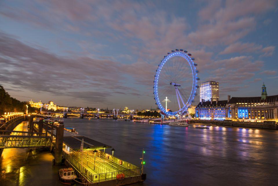 Una magnífica vista desde el London Eye