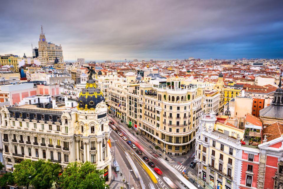 La Gran Vía, Madrid, España