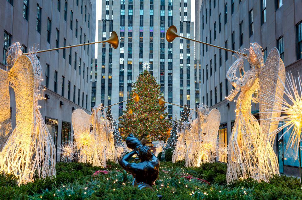 Le Rockefeller Center...
