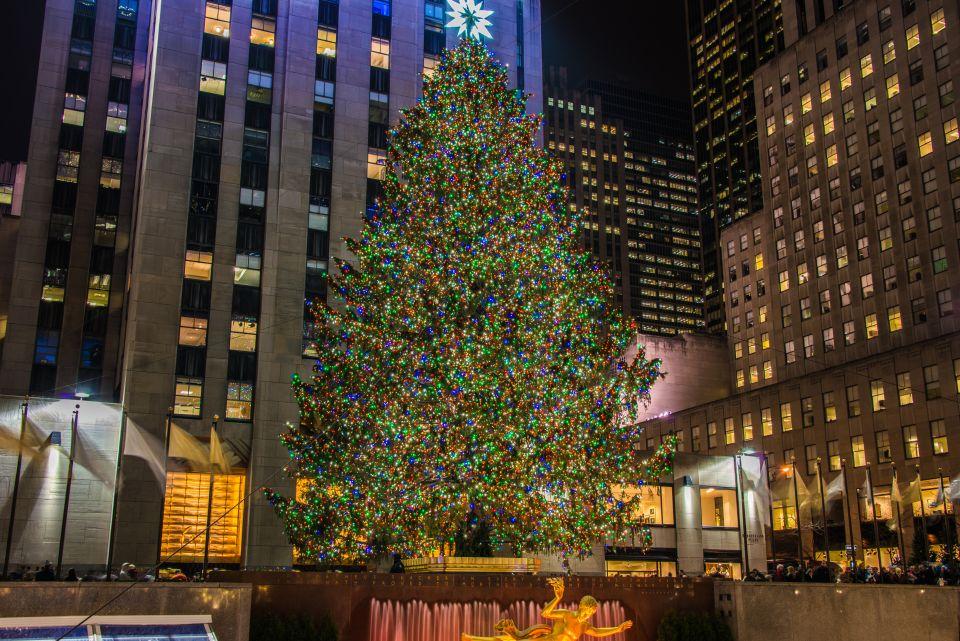 ... et son arbre de Noël géant
