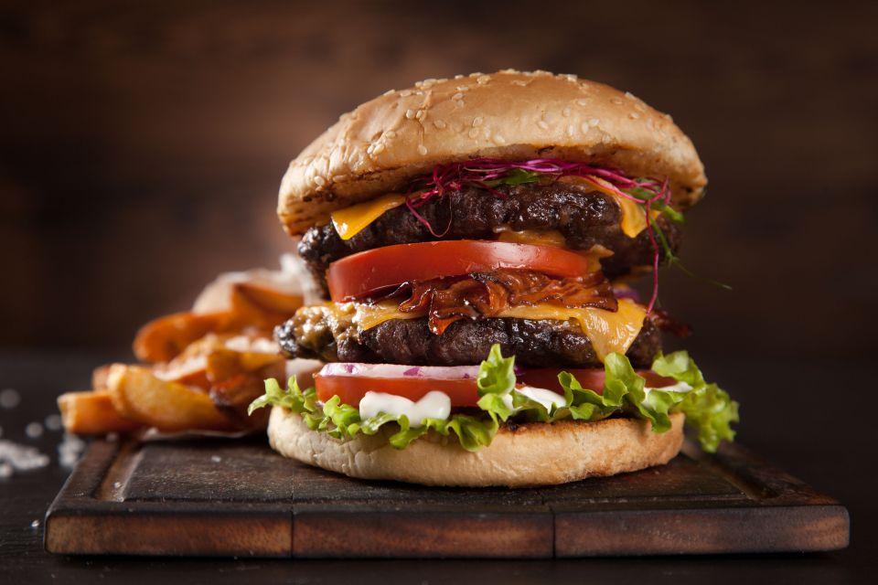 USA : hamburger