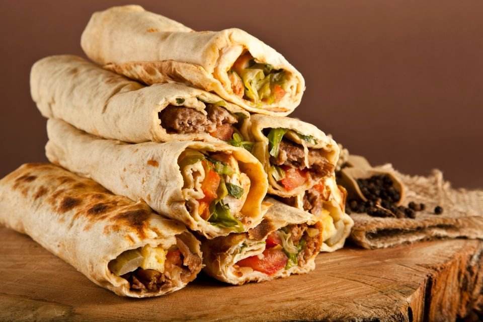 Émirats arabes unis : shawarma