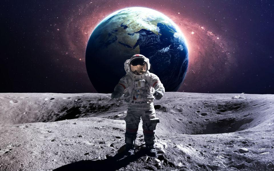 Il veut établir une base sur la Lune