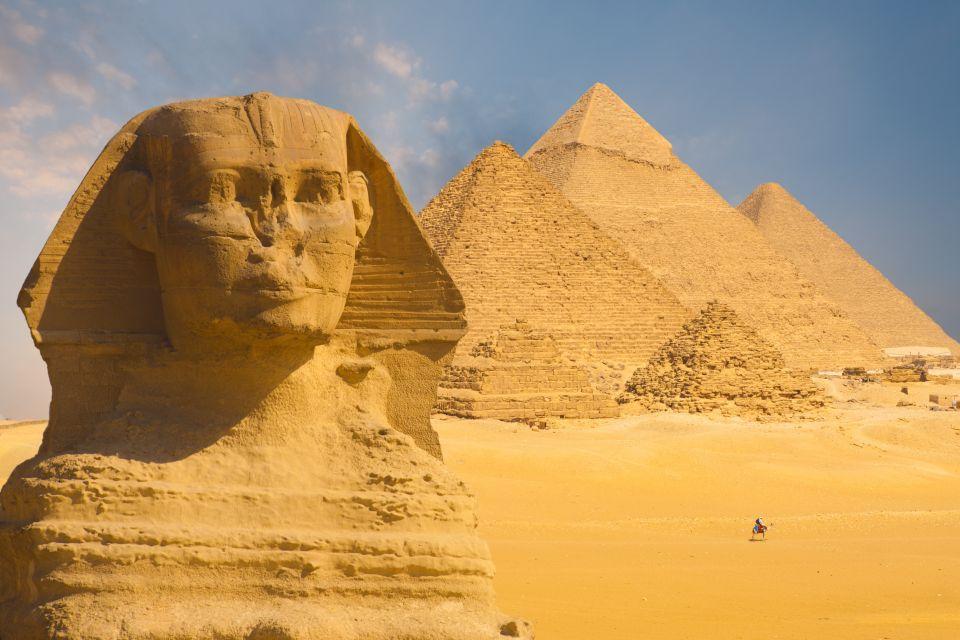 Les pyramides de Guizeh