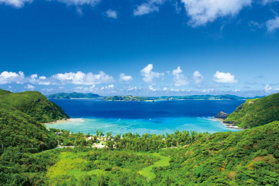 Plage de Tokashiku sur l'île de Tokashiki