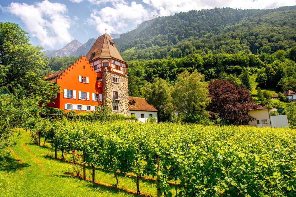 Paysage du Liechtenstein