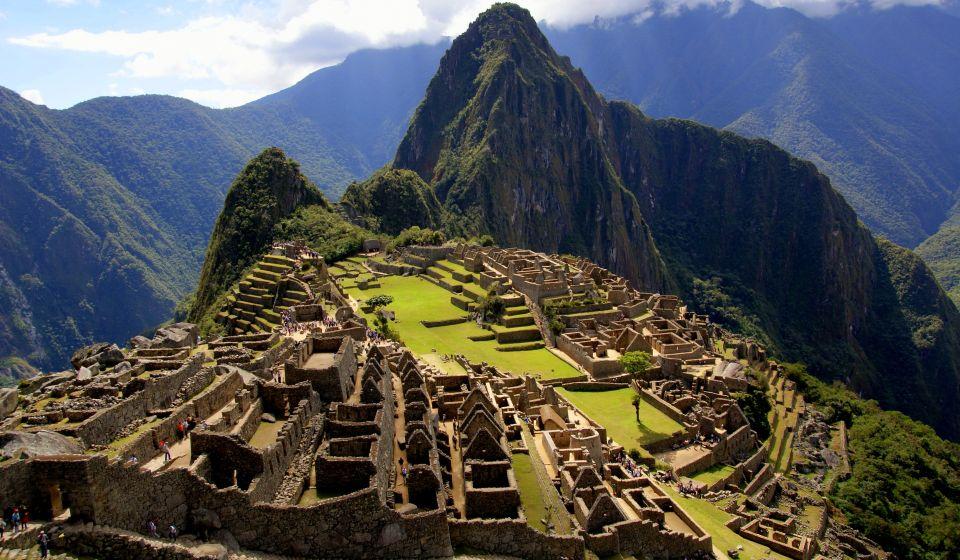 Le Machu Picchu au Pérou