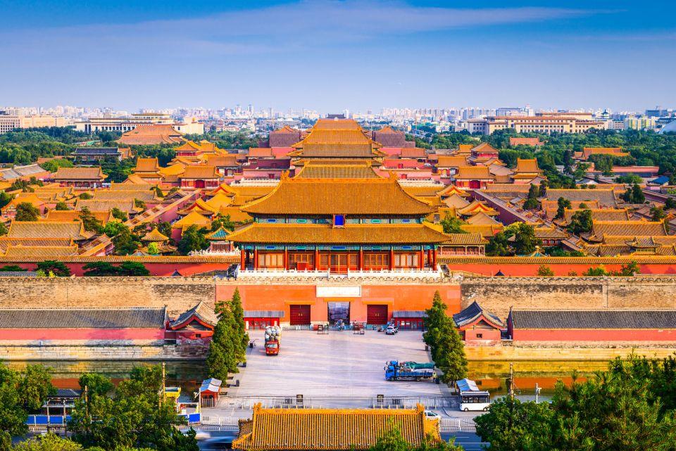 La Cité Interdite à Pékin en Chine