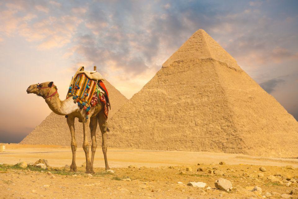 La pyramide de Khéops en Egypte