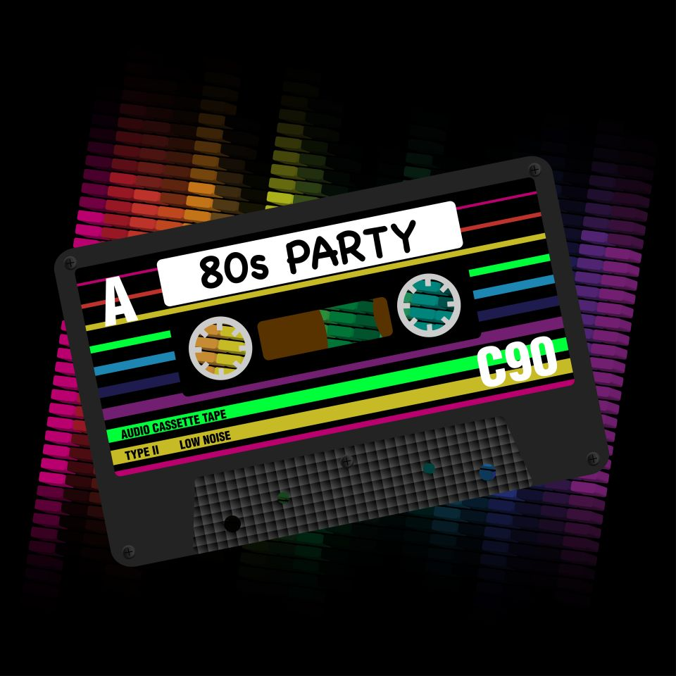 80's party cruise