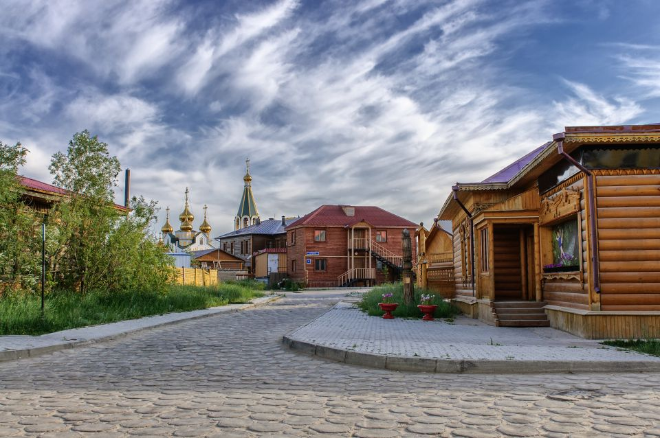 La città vecchia e fredda: Yakutsk in Russia