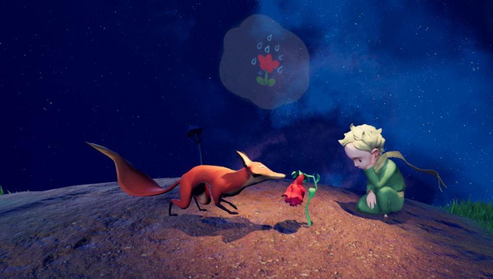 Le Petit Prince, le renard et la rose